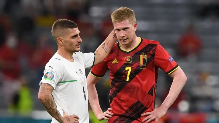De bruyne played with injury de bruyne played with injury