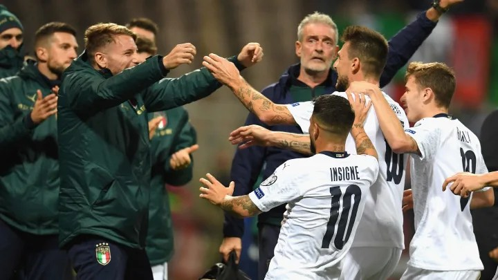 Bosnia and Italy drew 1-1 in the previous meeting between the two sides