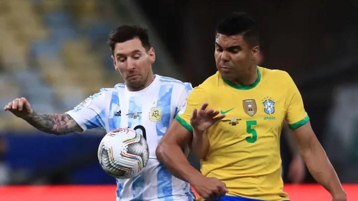 Lionel Messi, Casemiro