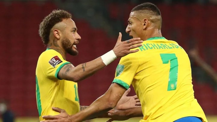 Richarlison, Neymar Jr.