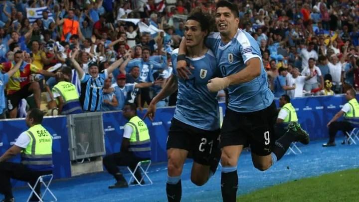 Edinson Cavani, Luis Suarez