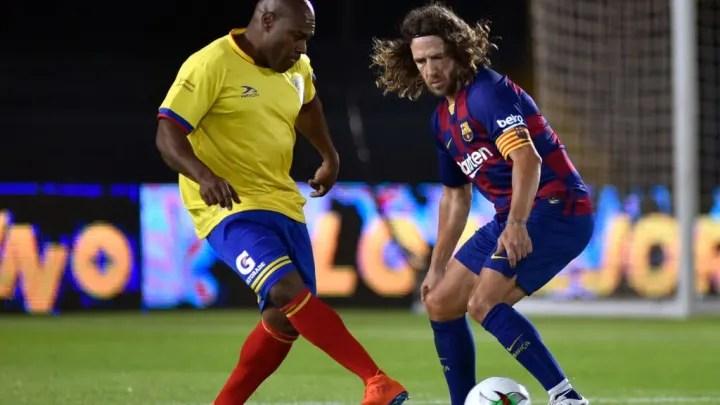 Carles Puyol, Eudalio Arriaga