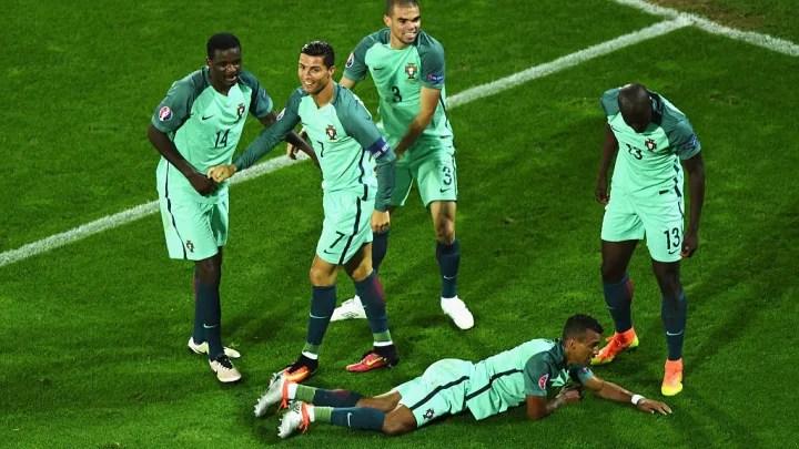 William Carvalho, Cristiano Ronaldo, Pepe, Nani, Danilo Pereira