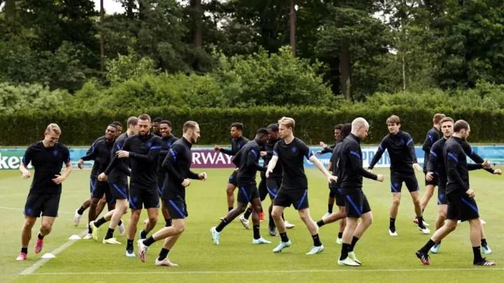 "EURO 2020""Press conference Netherlands"""