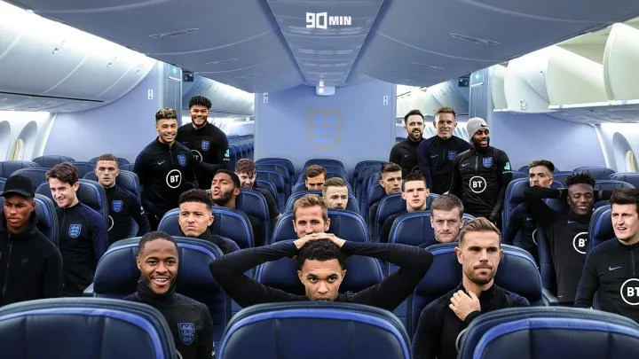 Who's on the Plane? England Euros Squad Power Rankings