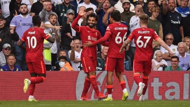 Liverpool news: Mohamed Salah joins Premier League 100 club