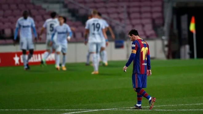 Player Ratings as Messi's Record Night Ends in Disappointment