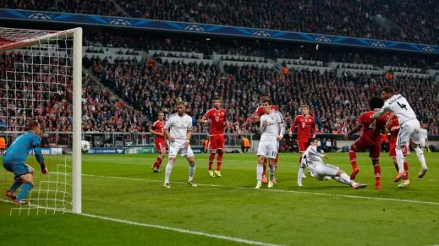 Pepe, Toni Kroos, Gareth Bale, Sergio Ramos, Bastian Schweinsteiger, Jerome Boateng, Dante