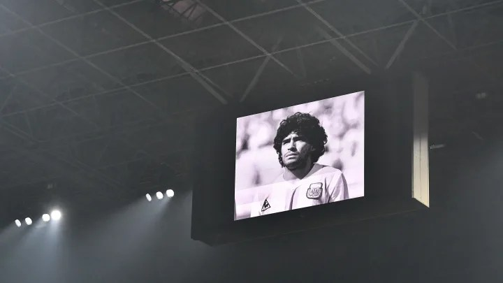 Diego Maradona Vigils Created in Naples and Argentina