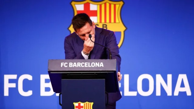 Lionel Messi: Twitter reacts to farewell press conference