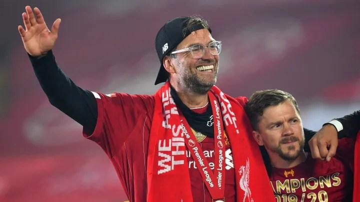 Jurgen Klopp Reacts to Liverpool Lifting Premier League Title