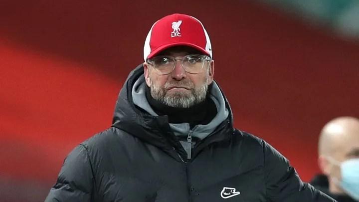 Jurgen Klopp criticises Liverpool's decision making in Burnley defeat