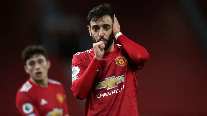 Bruno Fernandes named Premier League player of the month for December