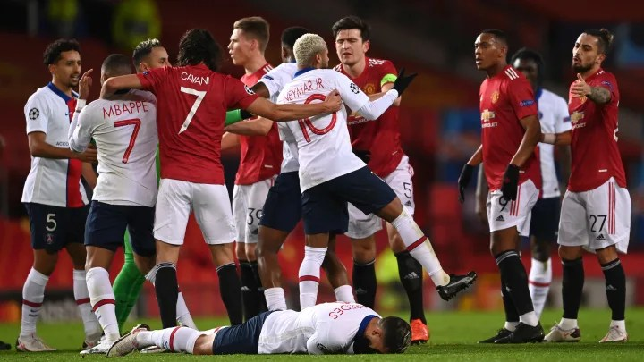 Twitter Reacts to Chaotic Manchester United Champions League Defeat to PSG