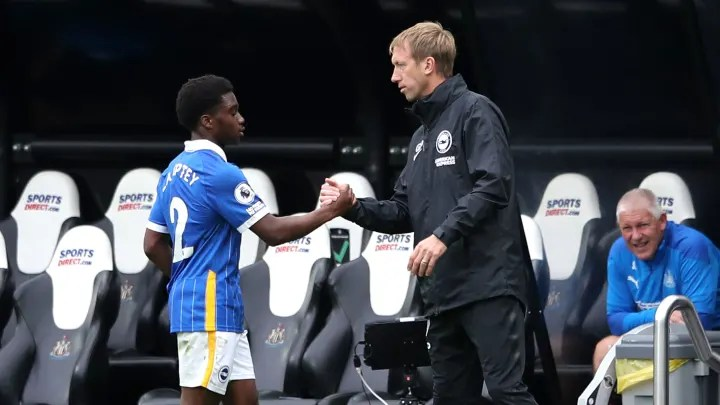 Graham Potter, Tariq Lamptey