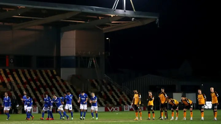 Brighton defeat Newport on penalties, Leeds shocked by Crawley & more
