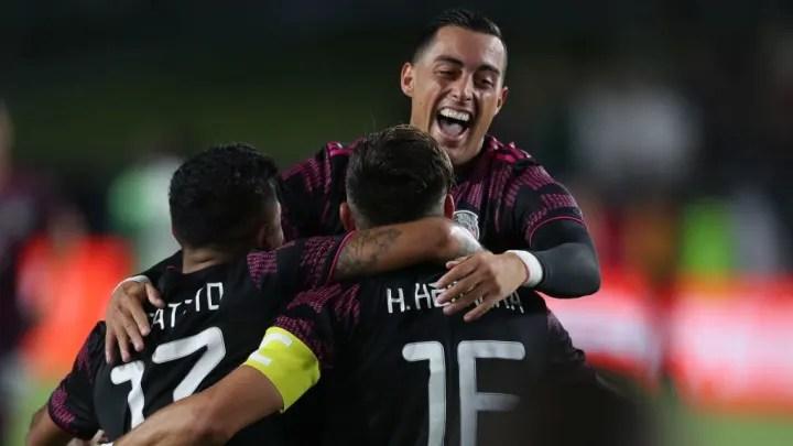 Héctor Miguel Herrera - Soccer Player, Rogelio Funes Mori, Carlos Salcedo, Jesus Manuel Corona