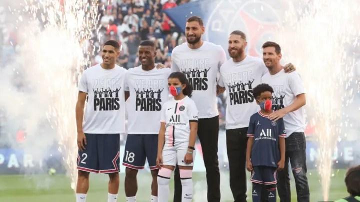 Achraf Hakimi, Georginio Wijnaldum, Lionel Messi, Leo Messi, Sergio Ramos, Gianluigi Donnarumma