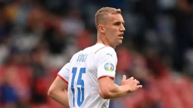 Tomas Soucek will start in midfield
