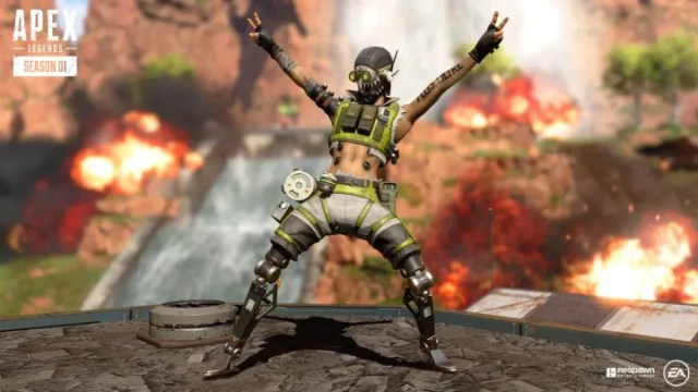 Nicolas Roye voices Octane in Apex Legends.