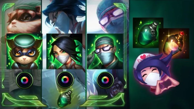 Play Safe Together missions in League of Legends offer players rewards simply for playing the game.