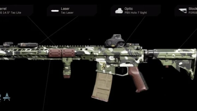 Soulful Wanderer Blueprint Warzone is a variant of the M4A1 assault rifle.