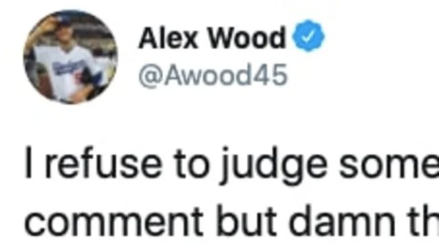 Alex Wood claps back at Mark Teixeira after his anti-players take on resumption of 2020 season.