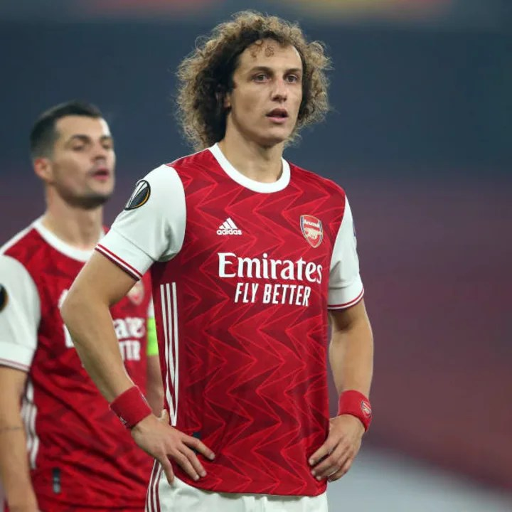 Arsenal fans saw the good and bad sides of David Luiz