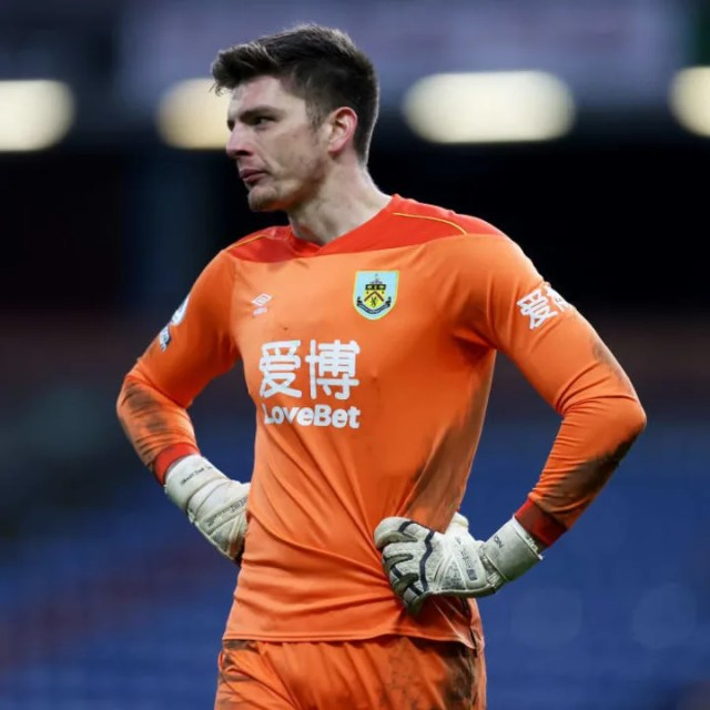 Burnley's Nick Pope is an alternative target for Spurs