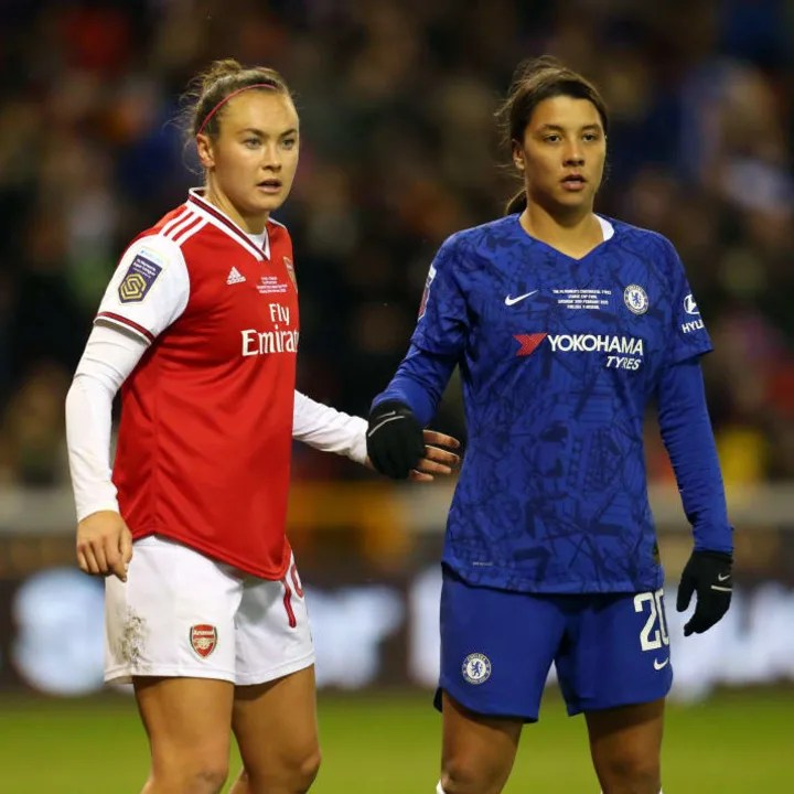 Chelsea & Arsenal contested the 2020 Conti Cup final