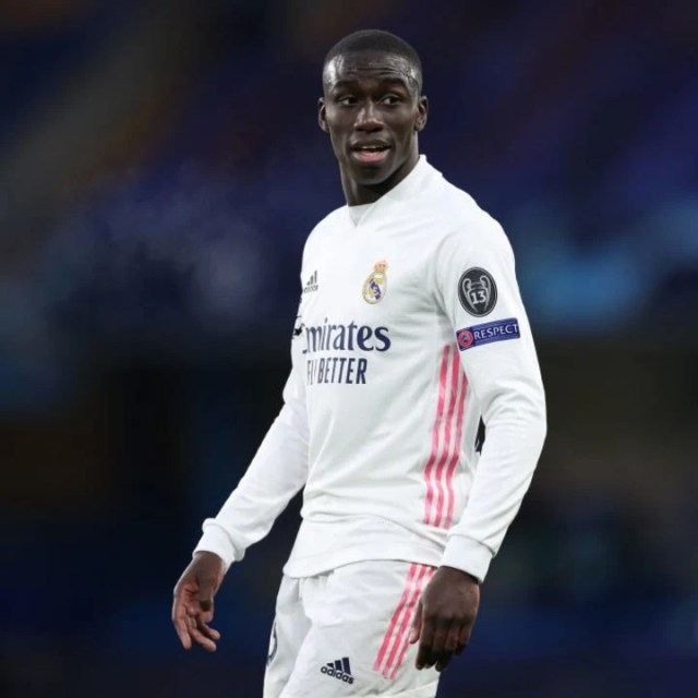 Ferland Mendy is beginning to settle in Madrid