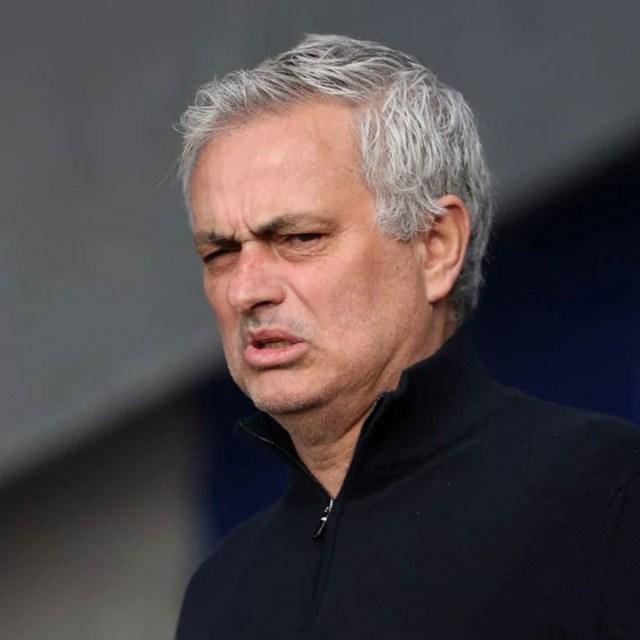 Jose Mourinho replaced Paulo Fonseca at Roma
