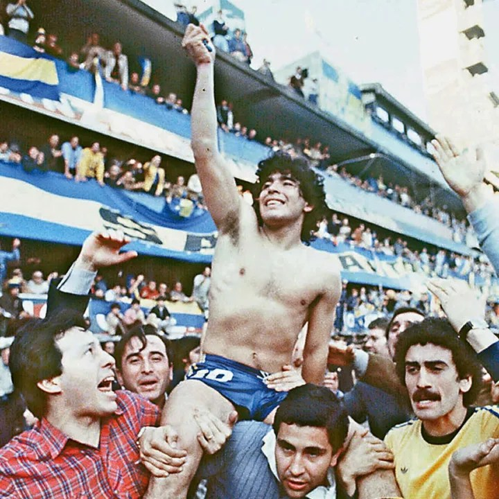 (FILE) This 1981 picture shoes Argentine