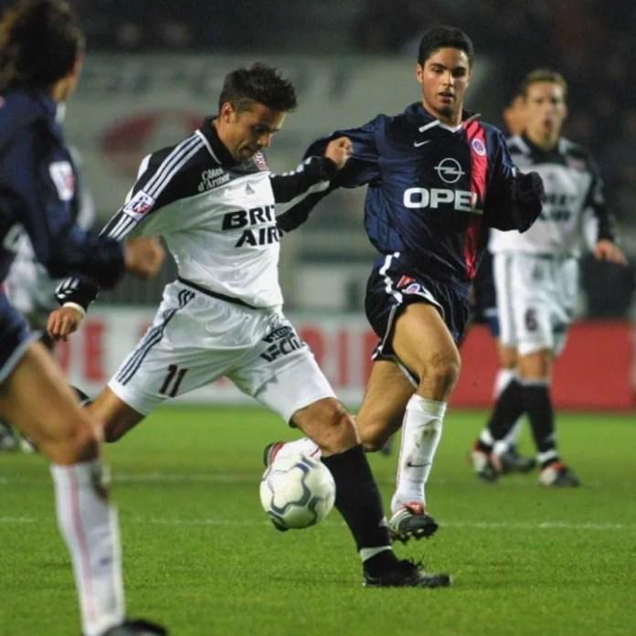 Mikel Arteta kaloi 18 muaj me PSG
