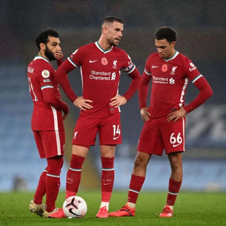 Jordan Henderson, Mohamed Salah, Trent Alexander-Arnold