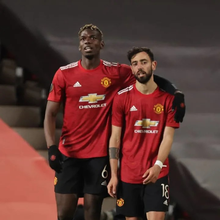 Paul Pogba and Bruno Fernandes were superb against Roma