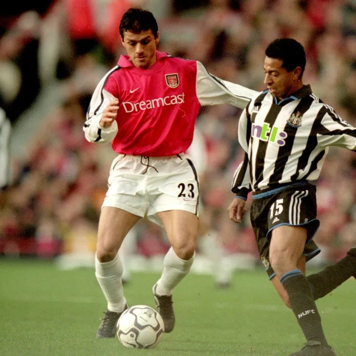 Nelson Vivas was only ever a back-up player with Arsenal