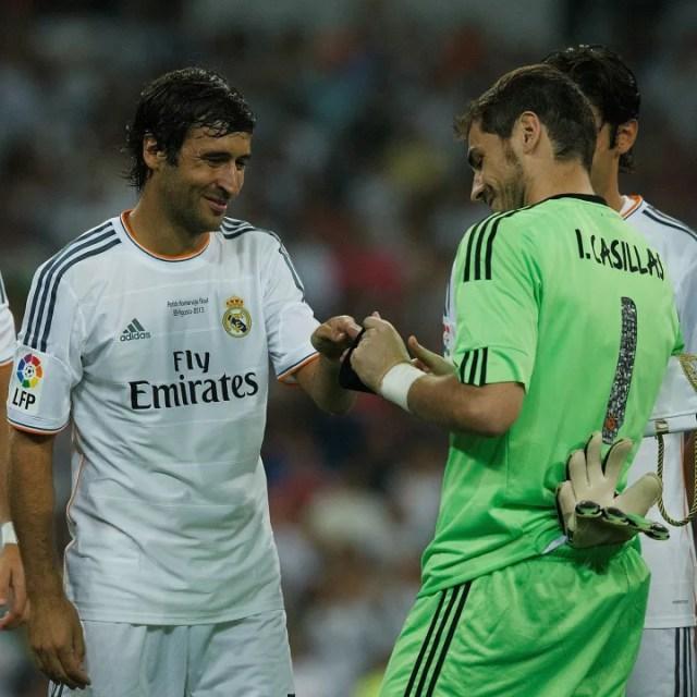 Raul, Iker Casillas