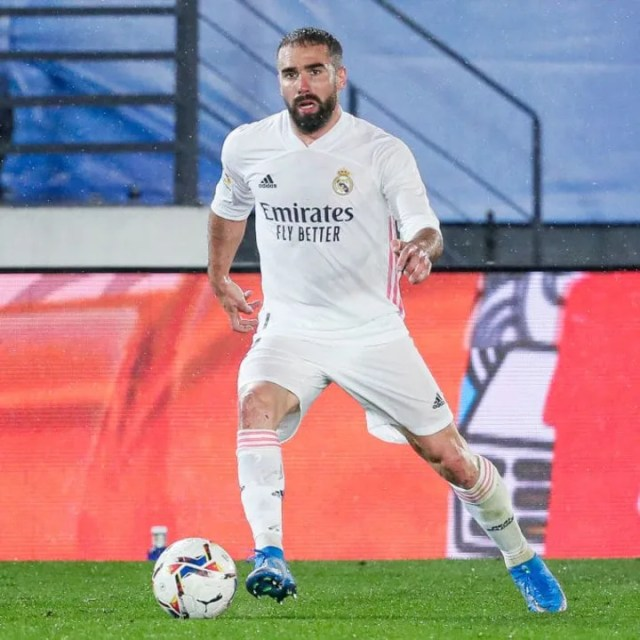 Dani Carvajal is expected to be Real's first-choice right-back next season