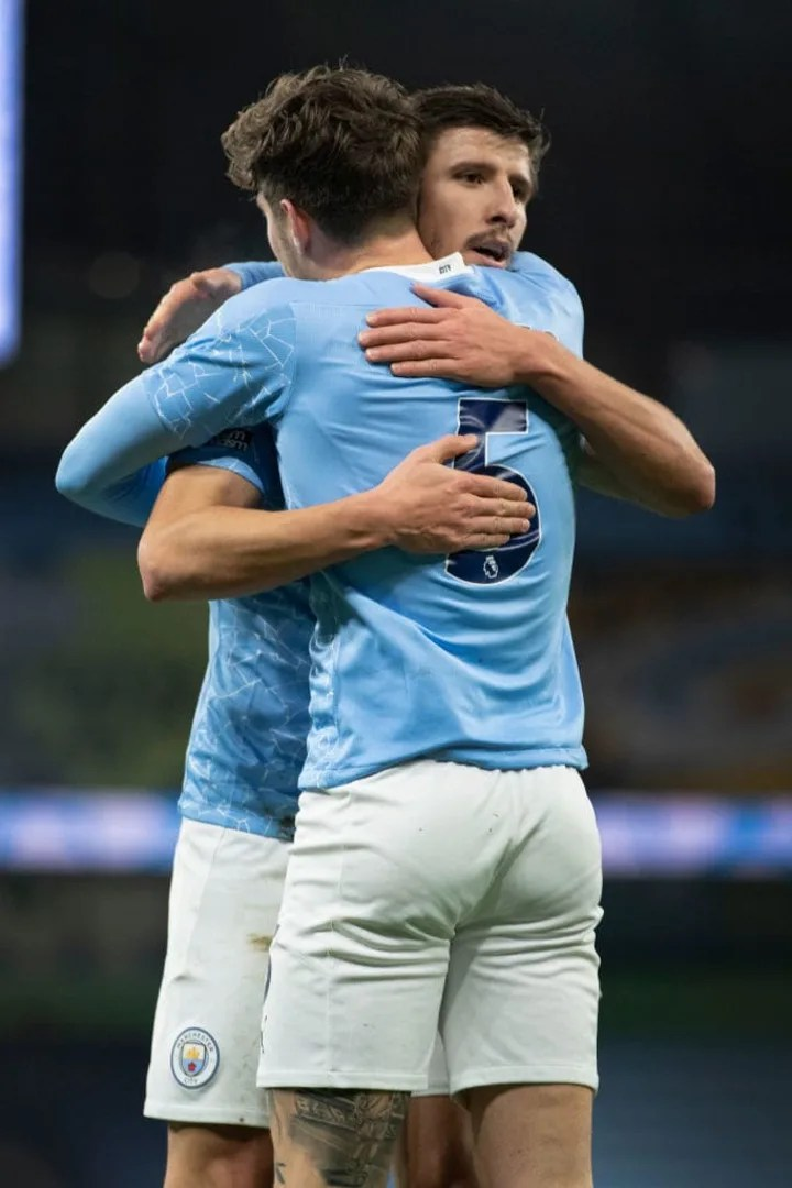 Dias and John Stones have formed a strong partnership of late