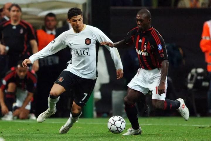 Clarence Seedorf, Cristiano Ronaldo