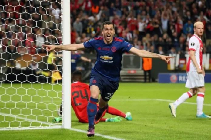 Mkhitaryan had a mixed time at Old Trafford