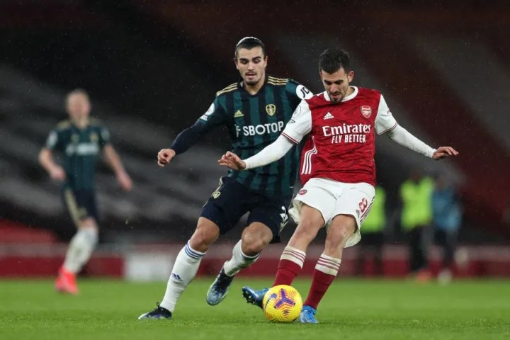 Ceballos produced a special moment to set up Arsenal's third