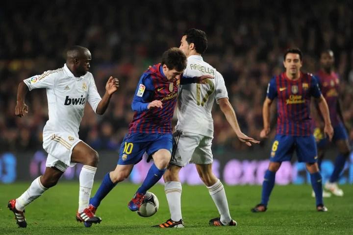 Lionel Messi, Alvaro Arbeloa