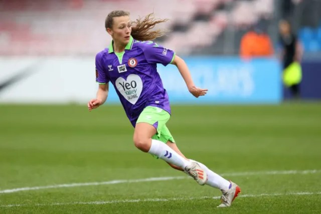 Charlie Wellings helped Bristol City move up the WSL table