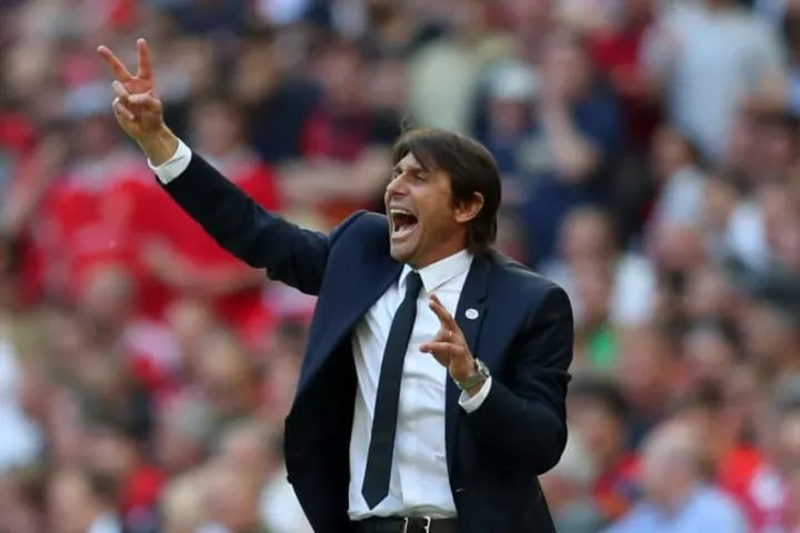 Antonio Conte won the title during his time at Chelsea