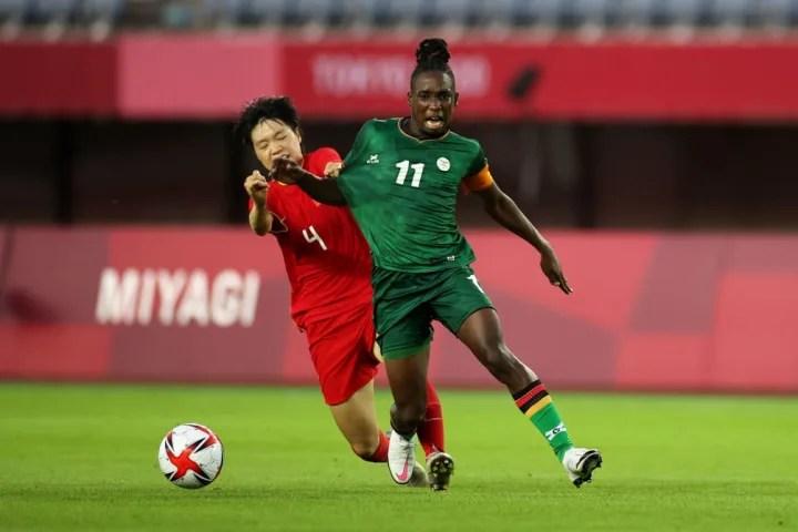 Zambia's Barbra Banda scored a second hat-trick