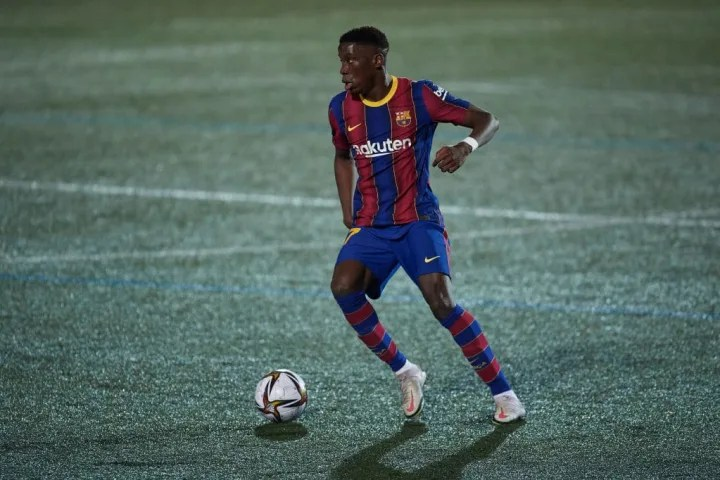 A very promising debut for 18-year old Ilaix Moriba