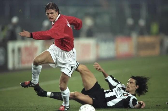 David Beckham dhe Moreno Torricelli