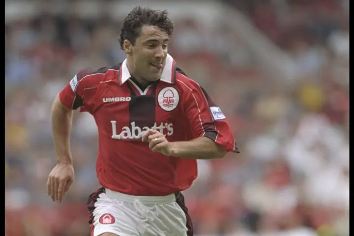 Dean Saunders during his Nottingham Forest days